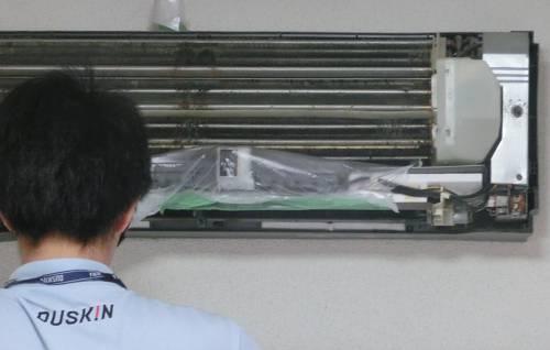 エアコンクリーニング、洗浄前