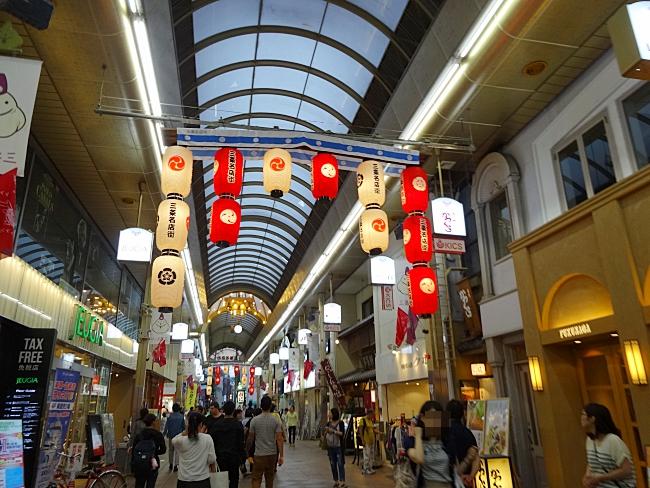 三条商店街、祇園祭