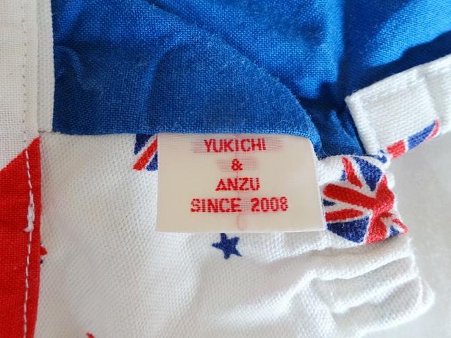 手作りハンドメイドの織りネームタグ、yukichi&anzu/since2008
