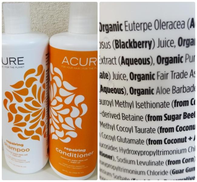 Acure Organics, シャンプー, モロカンアルガン幹細胞 + アルガンオイル, 24 液量オンス (709.76 ml)