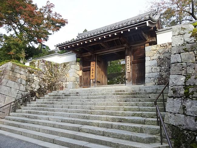 京都、大原三千院の表門