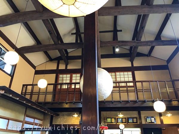 京都大原三千院 お漬物の志ば久の店内