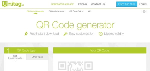 QR Code generatorの説明