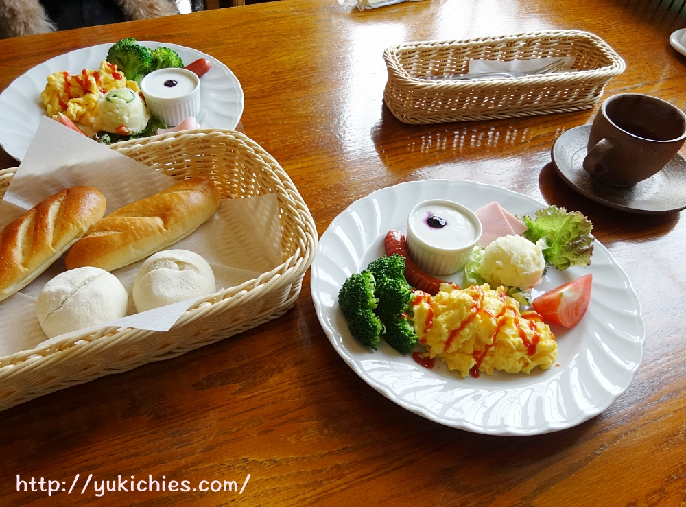 岡山県瀬戸内市牛窓 ワンちゃんと泊まる宿ラハイナ 朝食メニュー