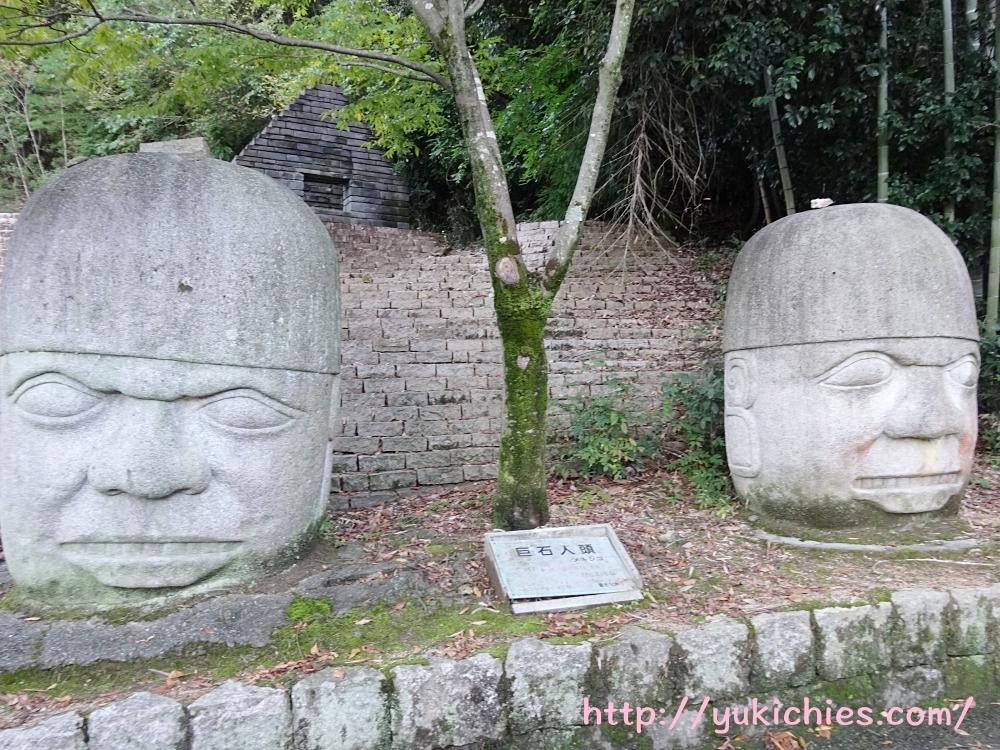 巨石人頭 メキシコ