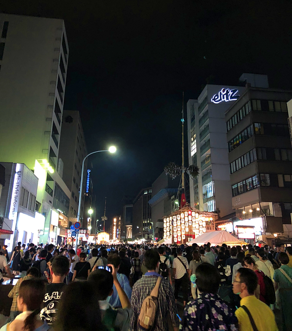 2018年京都祇園祭 四条通り