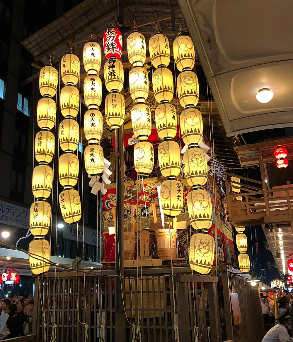 京都祇園祭 長刀鉾 四条通り