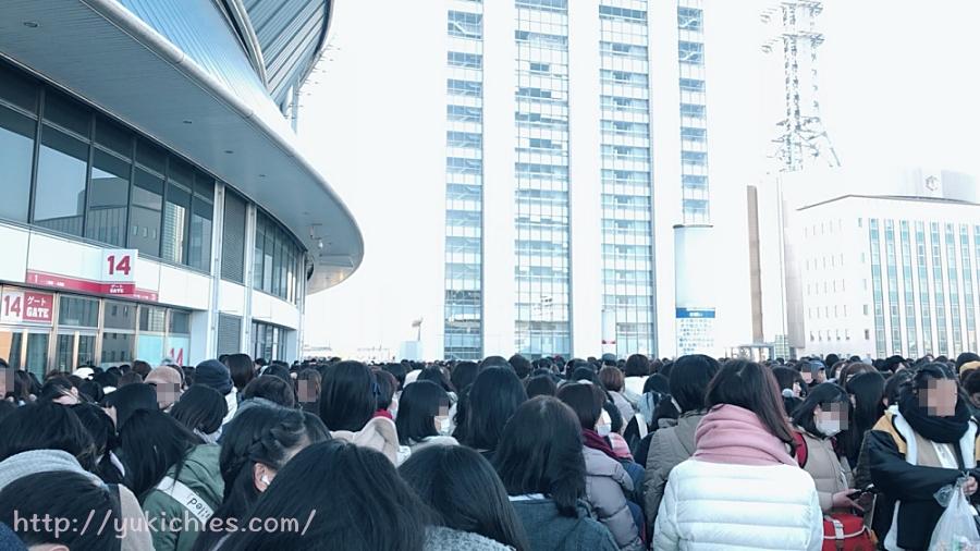 嵐 5×20 京セラドーム 最終日グッズ販売の列