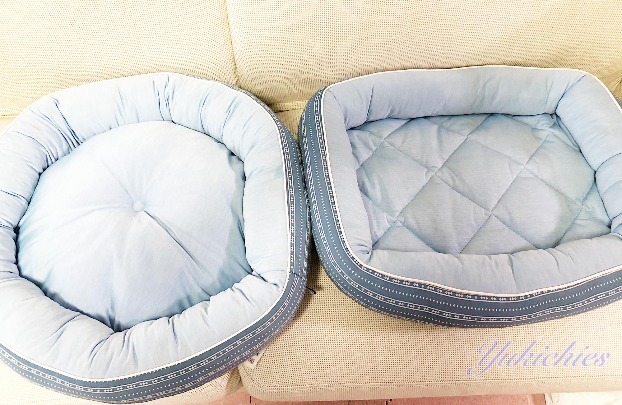 ニトリNcool 犬・ベッド M 丸型と四角型