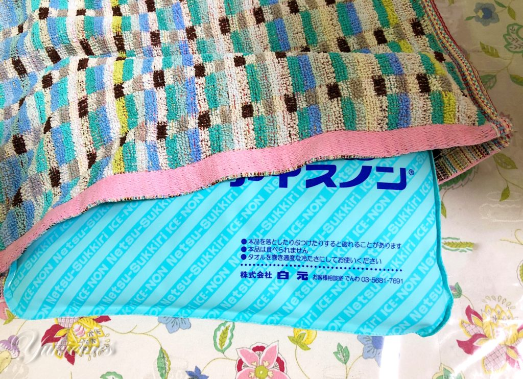 Watts(ワッツ)100円ショップ タオル アイスノン枕カバー
