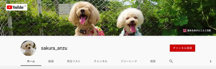 Youtube sakuraanzu 諭吉&杏のとことこ日記
