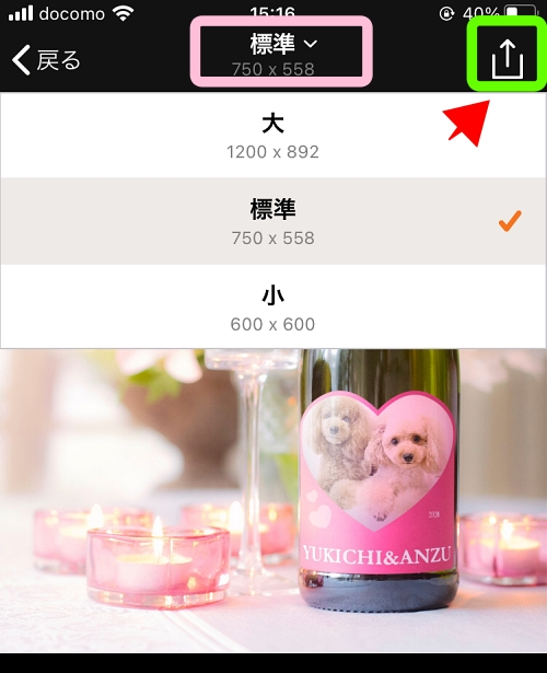 PhotoFuniaアプリ 使い方2