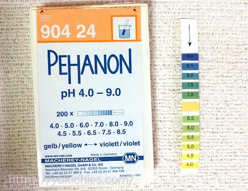 ストライプpHリトマス試験紙 pH54.0~pH9.0