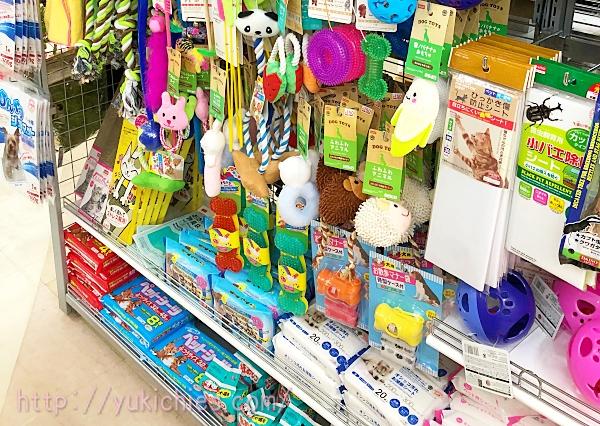 倉敷のダイソー ペット用品コーナー
