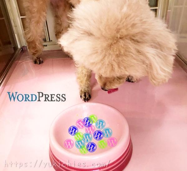 WordPress(ワードプレス)でブログを運営するのに必要なこと【トイプードル杏ちゃん】